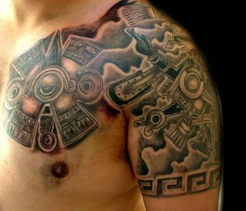 Tatuajes Del Calendario Azteca Tendenziascom