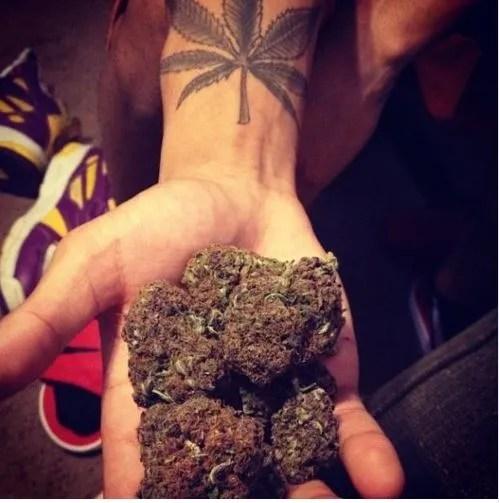 Tatuajes De Marihuana Tendenziascom