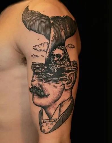 Tatuajes Raros Y Surrealistas Tendenziascom