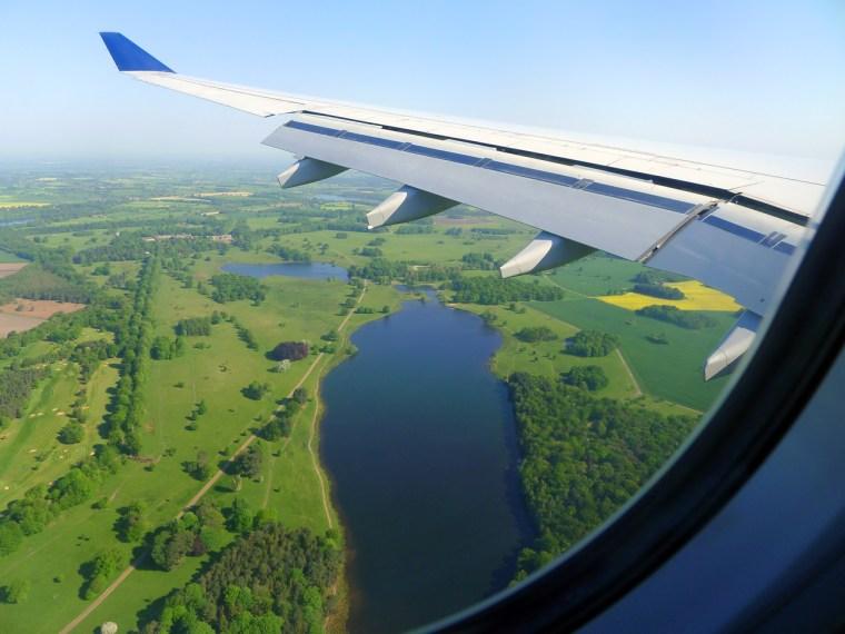 Landing in Manchester