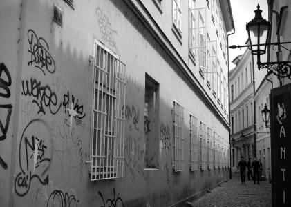 Stare Mesto in Black and White