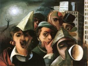 01 Felix Nussbaun. Masquerade. 1927.