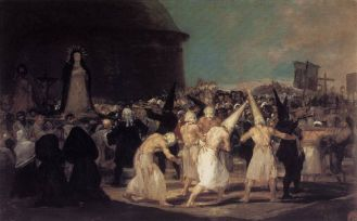 03. Goya. Procissão de Flagelantes. 1793