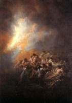 04. Goya. Fogo à noite. 1793-94