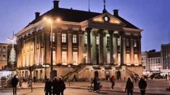 Grand market square Groningen