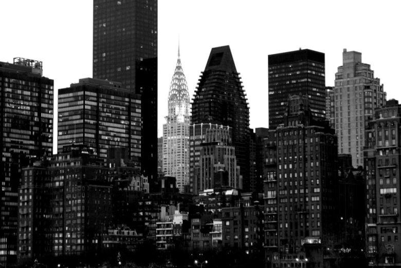 Le Chrysler Building vu depuis Roosevelt Island.