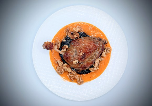 Duck a la orange and el chocolate