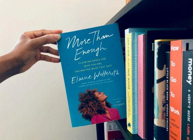 More Than Enough by Elaine Welteroth paperback copy