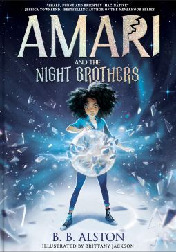 Amari and the Night Brothers book cover