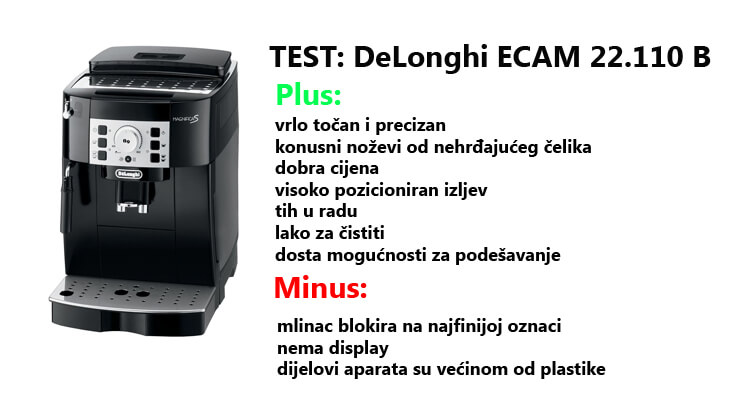 Test: DeLonghi Ecam