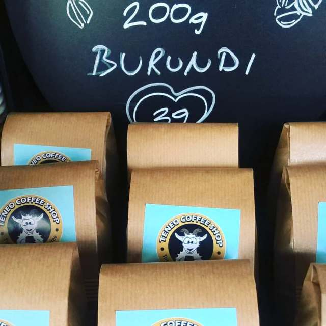 Svježa kava u zrnu u Teneo Coffee Shopu po 200 g.