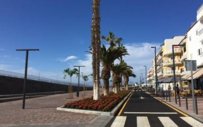 Guía de Isora announces stage one coast road works in Playa San Juan complete