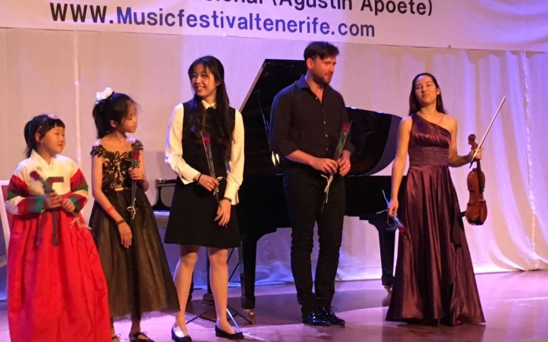International Festival and Academy of Music in Tenerife 16th anniversary concerts