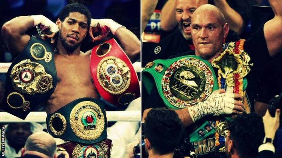 Anthony Joshua v Tyson Fury talks with interested venues begin