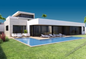 Contemporary Villa for sale in Exclusive area of San Eugenio Tenerife 1,480,000€