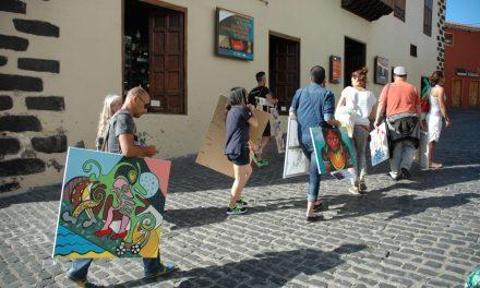 Walking Gallery en Puerto de la Cruz