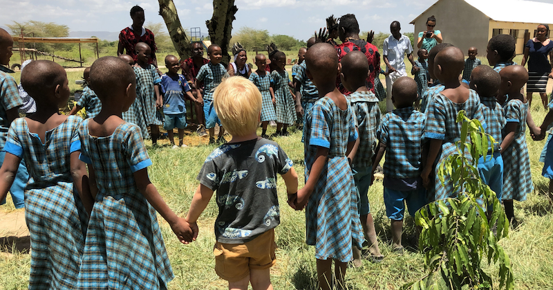 Ten Feet Travels, Volunteering as a family, The Bandari Project, Mto Wa Mbu Tanzania