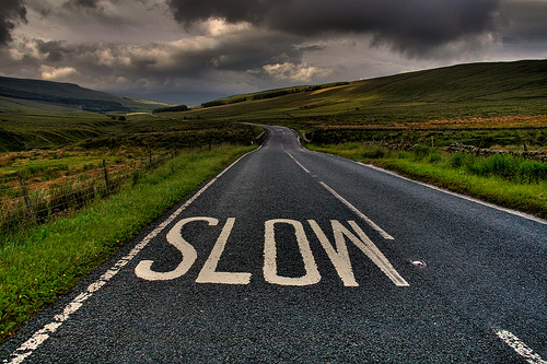 Slow Down .......You Clown!!