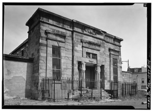 Philadelphia Co. Prison Debtors' Wing (demolished) from HABS