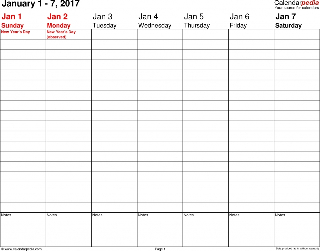 Free Printable Daily Calendar 15 Minute Increments