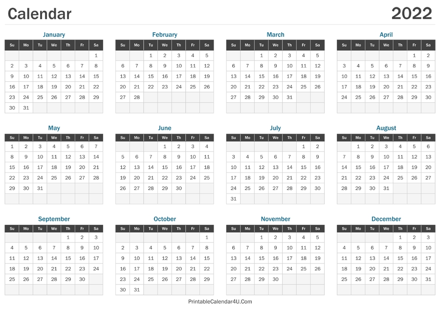 Learn when you should use each. Free Printable Calendar 2021 Monthly With Holidays 8 1/2 X ...