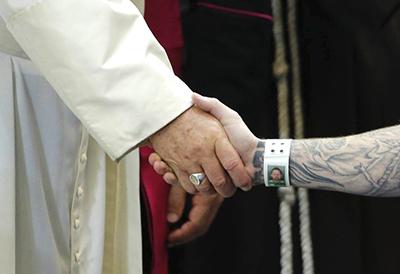 Visita del Papa a los presos