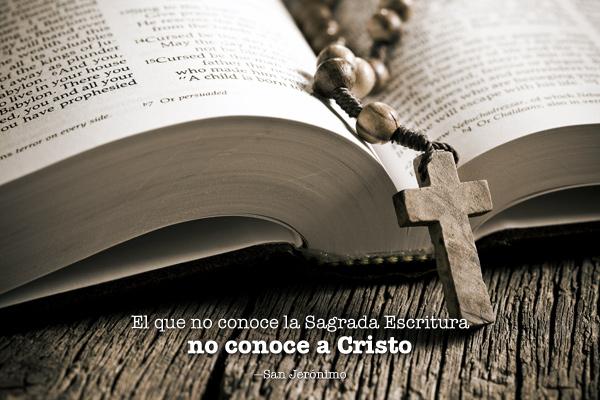 Conocer las Escrituras para conocer a Cristo