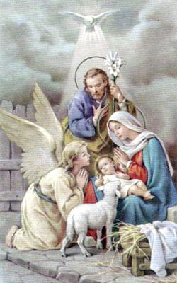 El angelito de Navidad