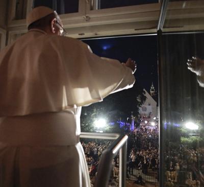 Saludo del Santo Padre a los fieles