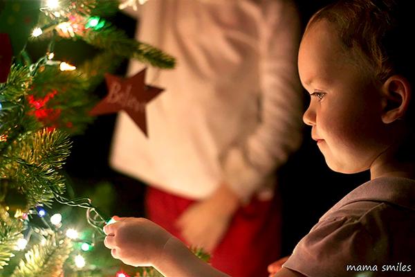 Bendición del arbolito de Navidad