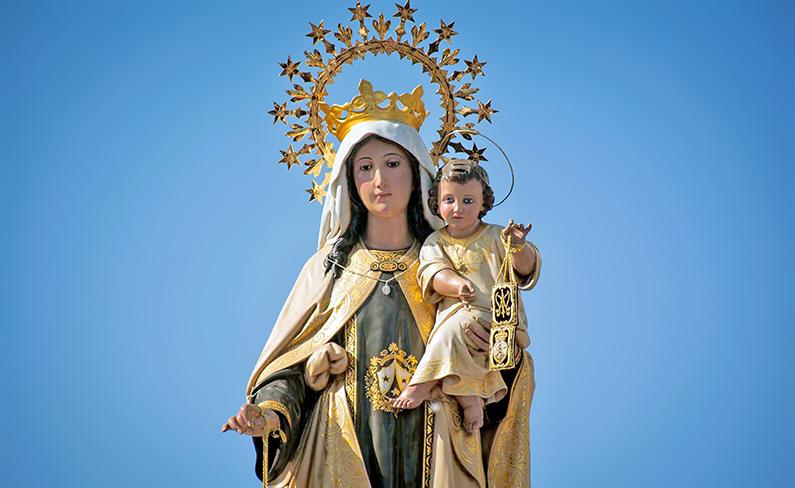 Salutación a nuestra Señora del Carmen