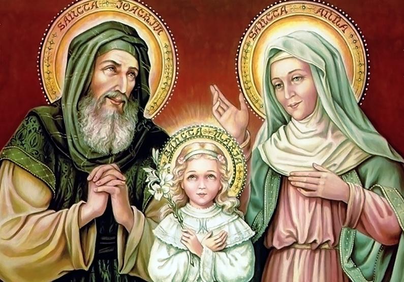 Oración a San Joaquín y Santa Ana