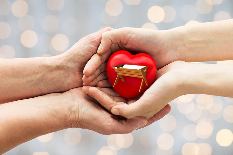 8 de diciembre: ponte en las manos de Dios