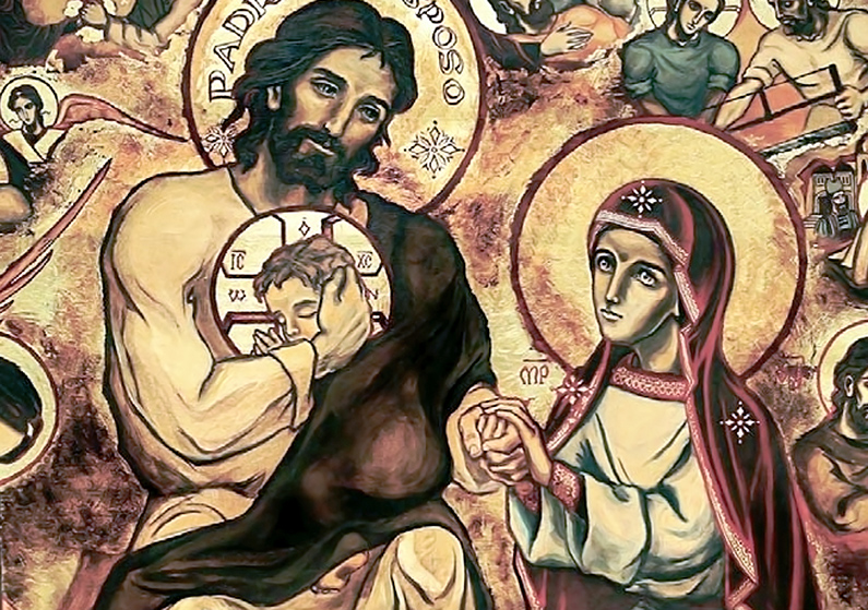 San José, el más santo de los santos: La Sagrada Familia