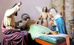 San José, el más santo de los santos: San José y los moribundos