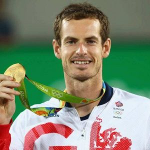 Andy Murray Gold Rio