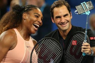 Serena Williams i Roger Federer