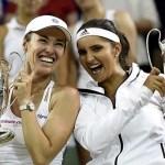 Hingins y Mirza campeonas en dobles en Wimbledon