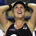 Bencic acabó con el invicto de Serena de 44 partidos ganados concecutivos