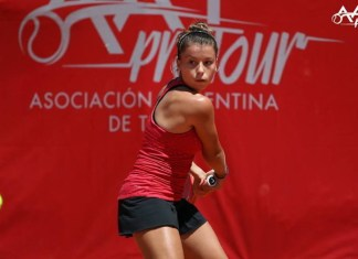 Margot Mercier sigue con vida en el dobles de Tunez