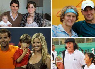 ¿Seguirán sus hijos el tenis?
