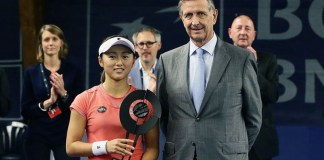 Misaki Doi en su primer final disputada, campeona.