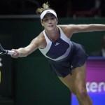 Muguruza derrotó a Safarova en el WTA Finals