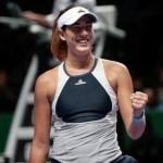 Muguruza se afianza como la líder del Grupo Blanco en las WTA Finals de Singapur
