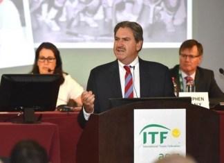 David Haggerty presidente de ITF