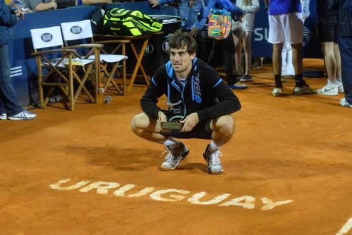 Guido Pella flamante campeón del Uruguay open