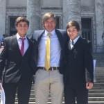 Llanes Fumeaux y Artía premiados por mejor labor en tenis