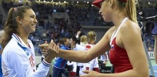 Sharapova empata la serie en la Fed Cup