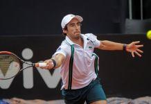 Cuevas avanzó a los Cuartos de Final del Brazil Open