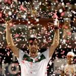 Pablo Cuevas supo manejar las dificultades que le plantearon, mostrando clase para estar en una final